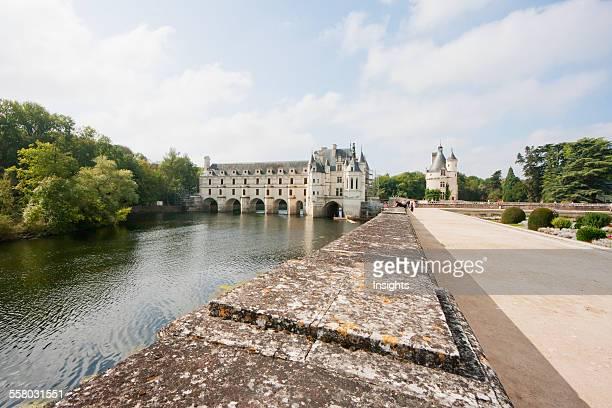 Chateau De Chenonceau On The River Cher Chenonceau IndreEtLoire France