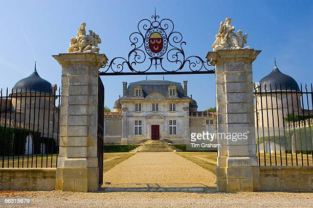 Chateau de MallePreignac in Sauternes regionof France