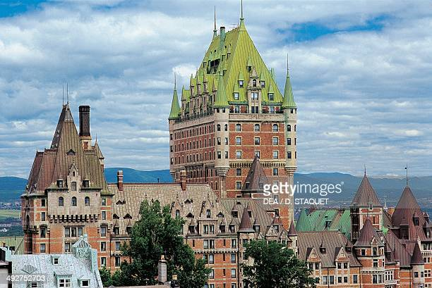 Chateau Frontenac 19th20th century Quebec Canada