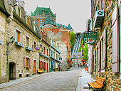 Chateau Frontenac - Old Quebec