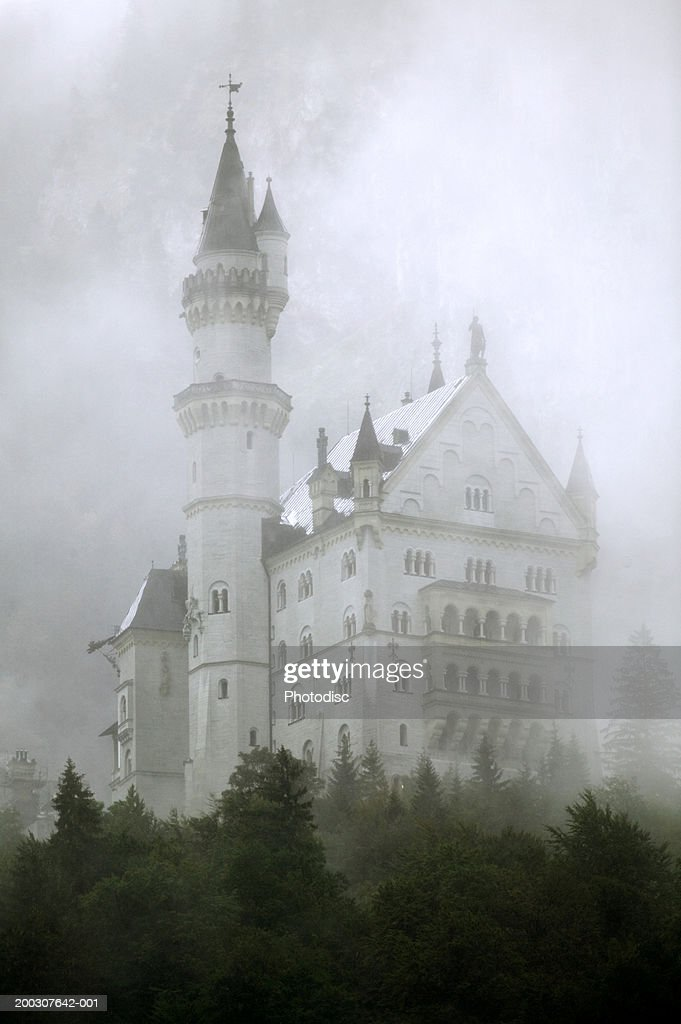 Chateau in mist