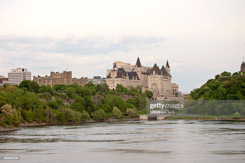 Chateau Laurier Hotel Ottawa : Stock Photo