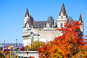 Chateau Laurier in autumn, Ottawa (XXXL)