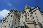 A landmark hotel in downtown Ottawa, Ontario.