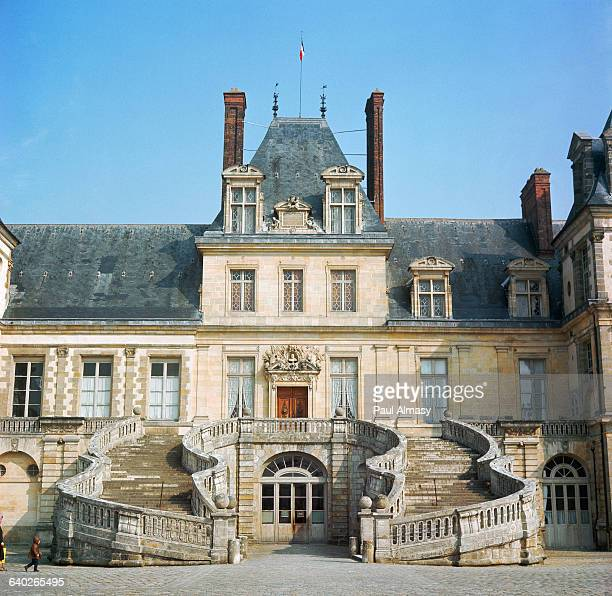 chateau de fontainebleau stock photos and pictures getty images. Black Bedroom Furniture Sets. Home Design Ideas