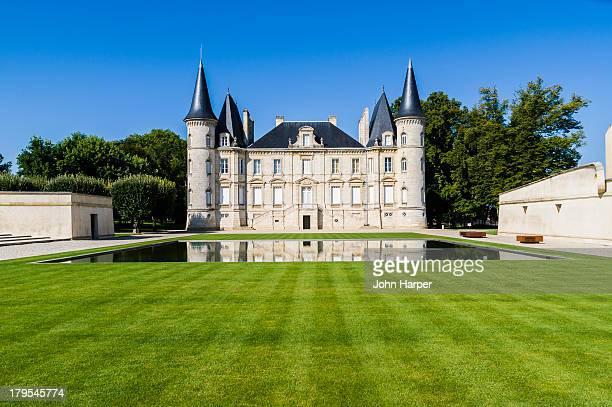 Chateau of Pichon Longueville, Medoc, France