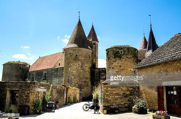 Châteauneuf-en-Auxois en France