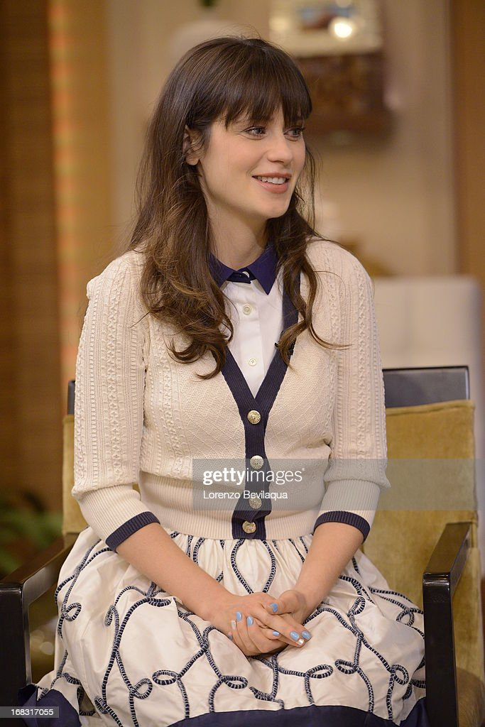 """DESCHANEL chats about the series """"New Girl"""" on 'LIVE with Kelly and Michael,' distributed by Disney-ABC Domestic Television. ZOOEY"""