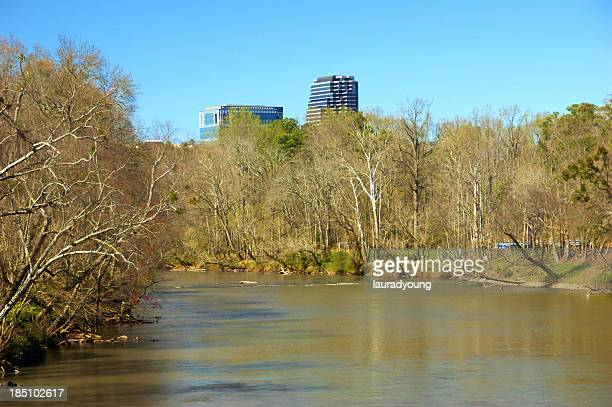 Chattahoochee River in Vinings Georgia USA