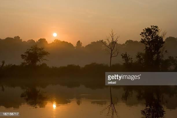 Chattahoochee river sunrise