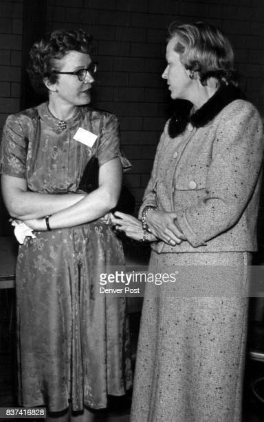 Chatter Family chatter occupies Mrs John W Emery a member of the board of governors and her sister Mrs David C Wilhelm both at afternoon event Credit...