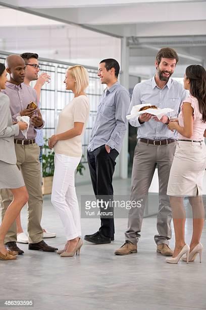 Chattare con i colleghi
