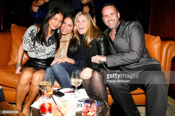 Chau Ngo Grace GomezBrea Susan Kilkenny and Scott Buccheit attend INTERVIEW Magazine Hosts After Party for YPLC and MUSIC UNITES at Library at the...