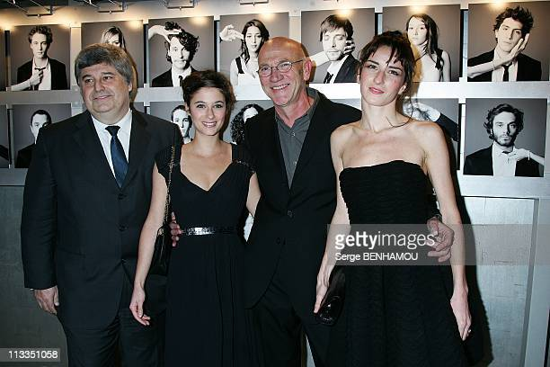 Chaumet Evening In The Honor Of The Revelations Of Cesar 2009 In Paris France On January 20 2009 Thierry Frisch Chaumet's CEO Melanie Bernier Richard...