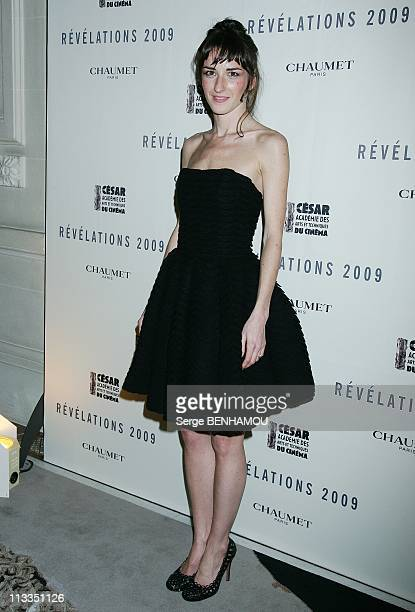 Chaumet Evening In The Honor Of The Revelations Of Cesar 2009 In Paris France On January 20 2009 Salome Stevenin