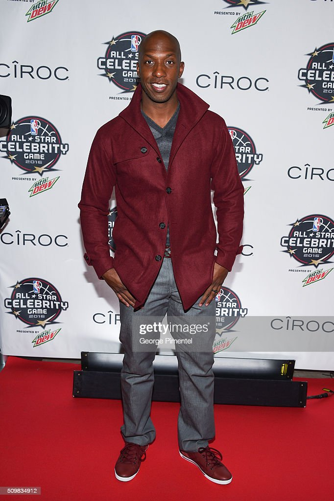<a gi-track='captionPersonalityLinkClicked' href=/galleries/search?phrase=Chauncey+Billups&family=editorial&specificpeople=201508 ng-click='$event.stopPropagation()'>Chauncey Billups</a> attends the 2016 NBA All-Star Celebrity Game at Ricoh Coliseum on February 12, 2016 in Toronto, Canada.