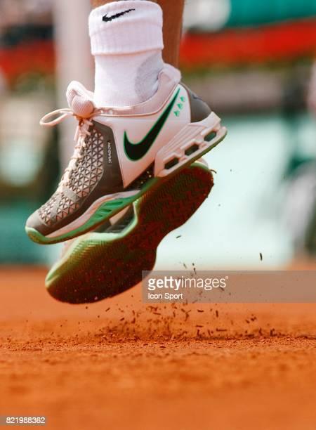 Chaussures de Rafael NADAL Roland Garros 2008 Jour 6