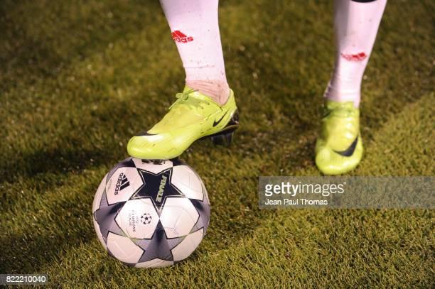 Chaussures Franck RIBERY Entrainement du Bayern de Munich Lyon / Bayern Munich Champions League 2008/2009