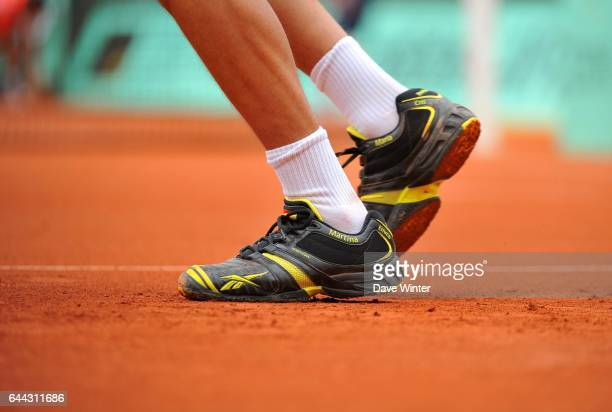 Chaussures Nicolas ALMAGRO Roland Garros 2012 Photo Dave Winter / Icon Sport