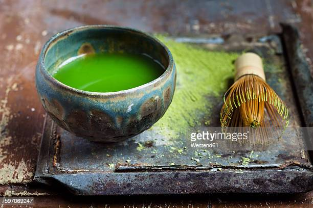 Chawan of matcha tea