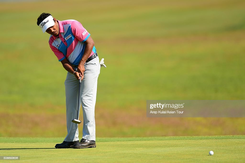 Chawrasia of India pictured during round three of the Leopalace21 Myanmar Open at Royal Mingalardon Golf and Country Club on February 6, 2016 in Yangon, Myanmar.