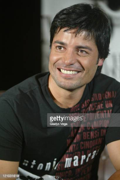 Chayanne during Chayanne Holds Press Conference in San Juan April 12 2007 at Morton's of Chicago at Caribe Hilton Hotel in San Juan Puerto Rico