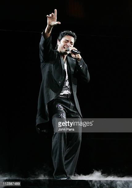 Chayanne during Chayanne in Concert at the American Airlines Arena in Miami April 20 2007 at American Airlines Arena in Miami Florida United States