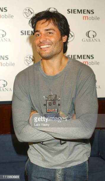 Chayanne during Chayanne Post Concert Party September 4 2004 at Gabanna in Madrid Spain