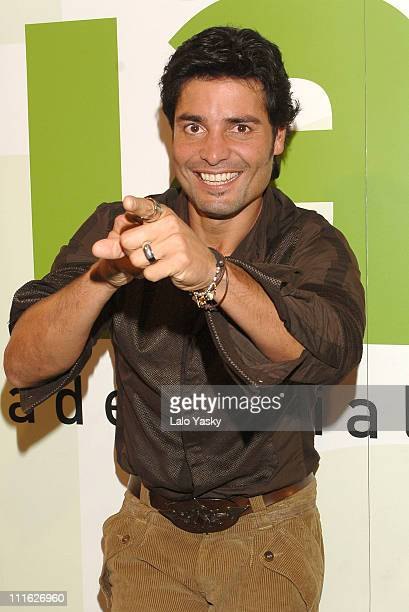 Chayanne during El Latinazo Annual Concert at La Riviera Club in Madrid October 6 2005 at La Riviera Club Madrid in Madrid Spain