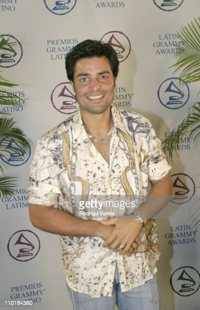 Chayanne during eLatin Grammy Carreras Musica at Miami Dade College in Miami Florida United States