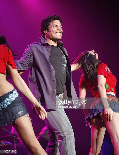 Chayanne during Vive Romance Concert April 7 2006 at American Airlines Arena in Miami Florida United States