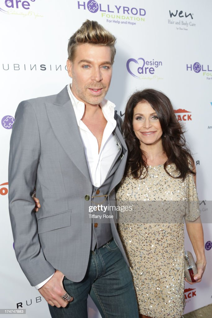 Chaz Dean and Joanne Dean attend the 15th Annual DesignCare benefiting The HollyRod Foundation on July 27, 2013 in Malibu, California.