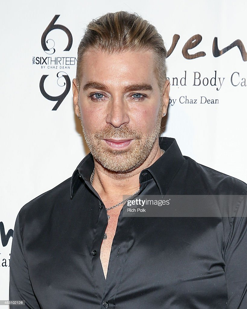 <a gi-track='captionPersonalityLinkClicked' href=/galleries/search?phrase=Chaz+Dean&family=editorial&specificpeople=2222767 ng-click='$event.stopPropagation()'>Chaz Dean</a> at his Summer Party Benefiting Love Is Louder on August 2, 2014 in Los Angeles, California.