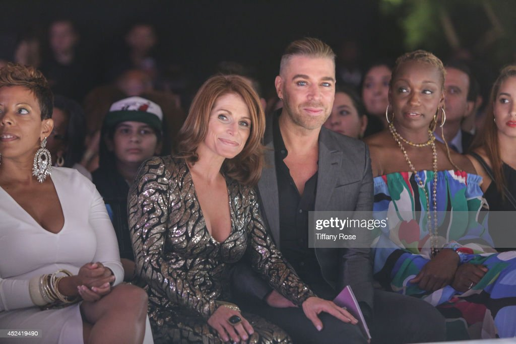 <a gi-track='captionPersonalityLinkClicked' href=/galleries/search?phrase=Chaz+Dean&family=editorial&specificpeople=2222767 ng-click='$event.stopPropagation()'>Chaz Dean</a> (center) attends the 16th Annual DesignCare to Benefit The HollyRod Foundation at The Lot Studios on July 19, 2014 in Los Angeles, California.