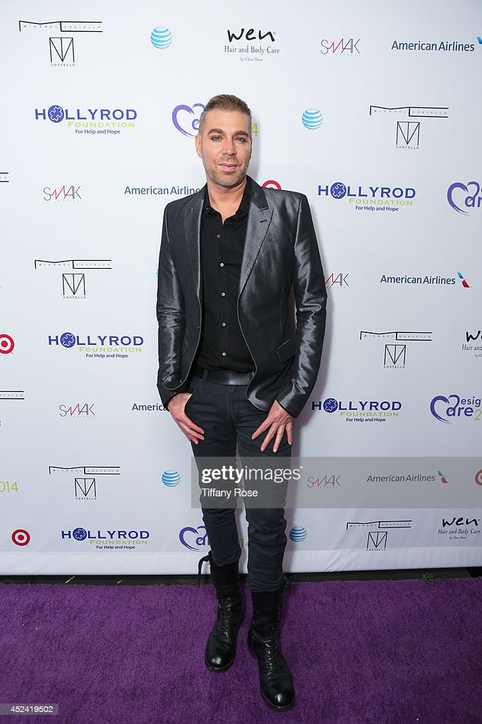 <a gi-track='captionPersonalityLinkClicked' href=/galleries/search?phrase=Chaz+Dean&family=editorial&specificpeople=2222767 ng-click='$event.stopPropagation()'>Chaz Dean</a> attends the 16th Annual DesignCare to Benefit The HollyRod Foundation at The Lot Studios on July 19, 2014 in Los Angeles, California.