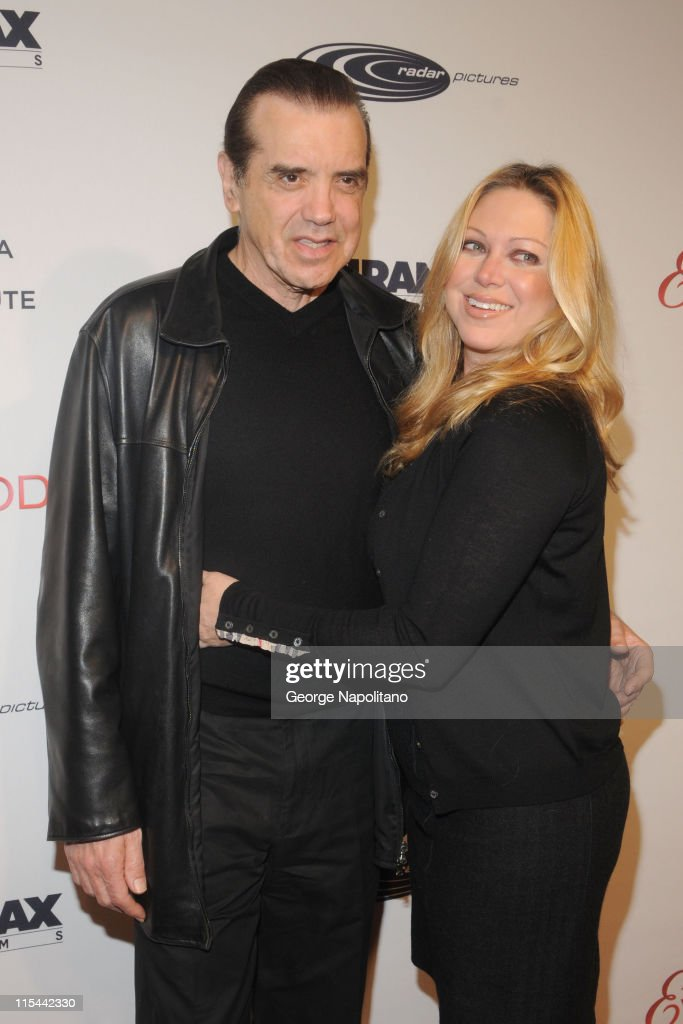 Chazz Palminteri and Gianna Ranaudo attend Tribeca Film Institute's benefit screening of ''Everybody's Fine'' at AMC Lincoln Square on December 3...