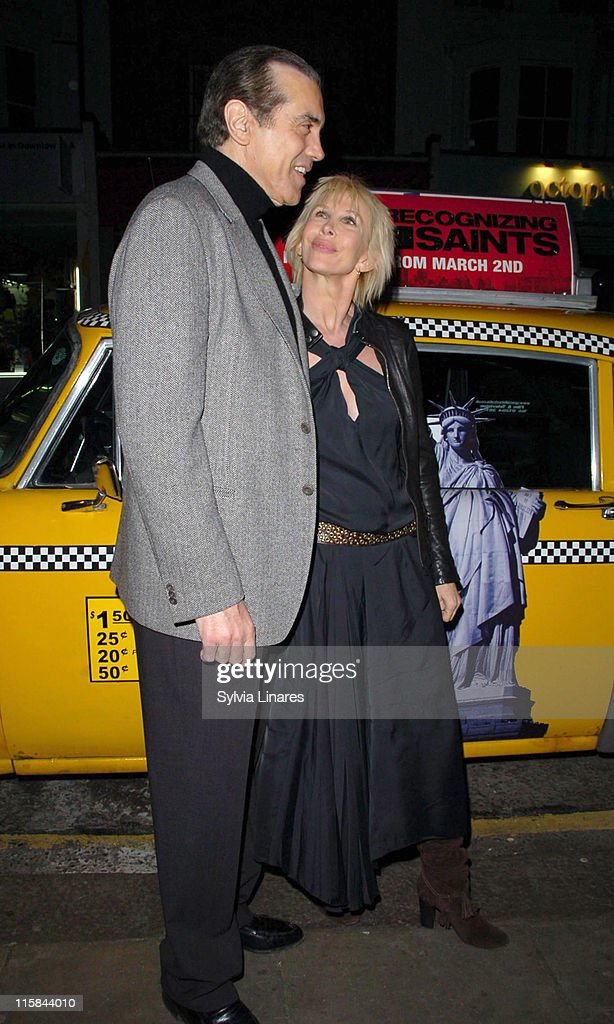 Chazz Palminteri and Trudie Styler during 'A Guide to Recognizing Your Saints' London Screening Arrivals at The Electric Members Club in London Great...