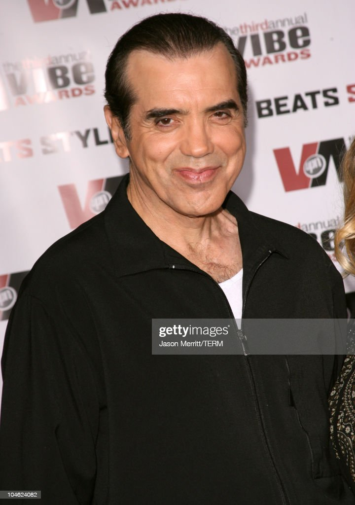 Chazz Palminteri during 3rd Annual Vibe Awards Arrivals at Sony Studios in Culver City California United States