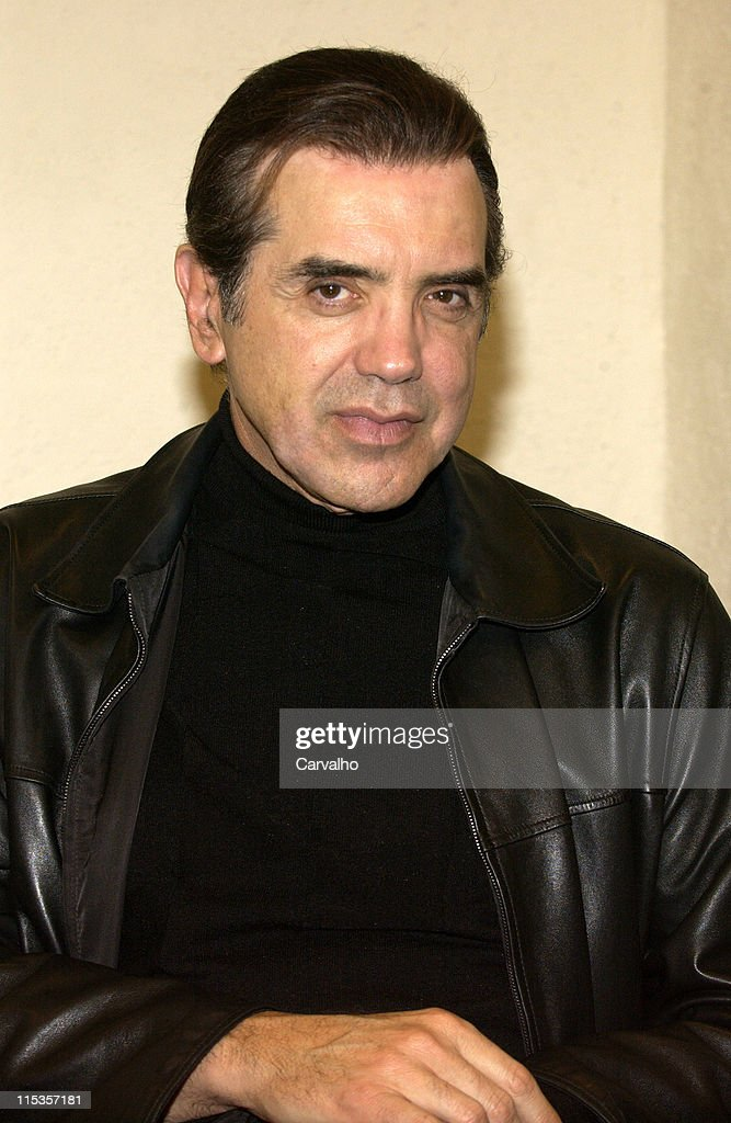 Chazz Palminteri during Chazz Palminteri Sighting In New York City November 23 2004 at Streets Of New York in New York City New York United States