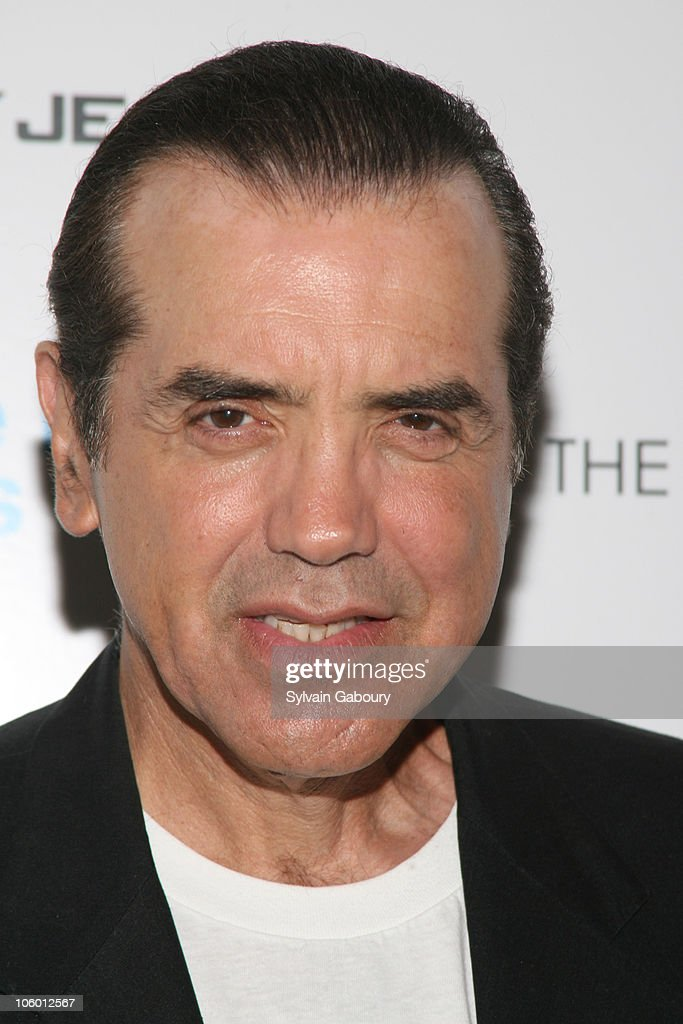 Chazz Palminteri during The Cinema Society and DKNY Present a Screening of 'The Last Kiss' Arrivals at Tribeca Grand Hotel Screening Room in New York...