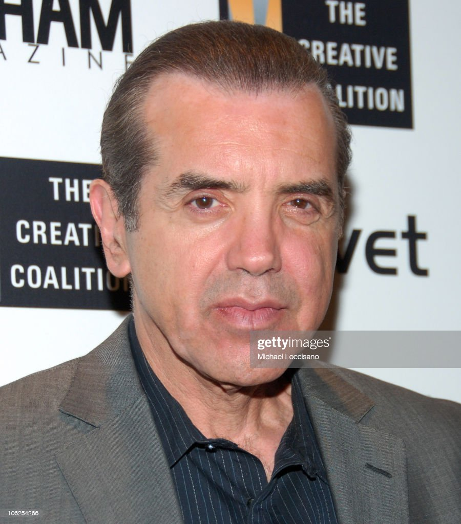 Chazz Palminteri during The Creative Coalition Gala Hosted by Gotham Magazine December 18 2006 in New York City New York United States