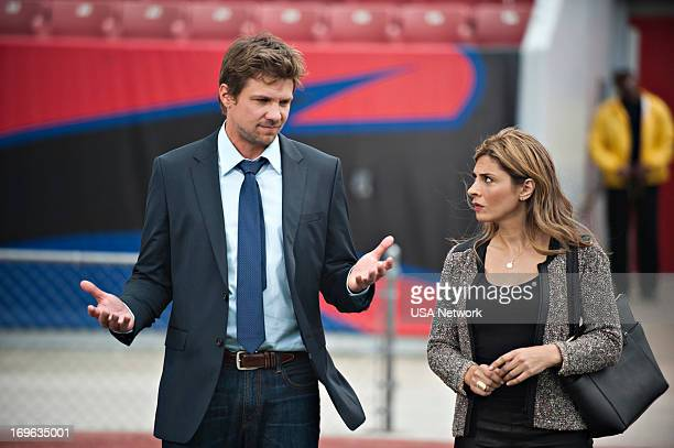 ROUGHNESS 'CHCHChanges' Episode 302 Pictured Marc Blucas as Matthew Donnally Callie Thorne as Dr Dani Santino