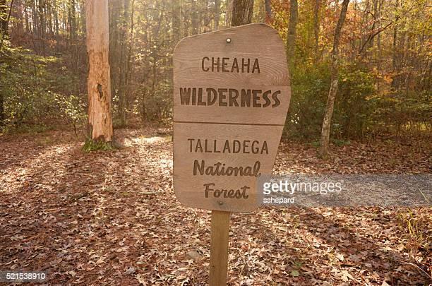 "Cheaha Wildnis Talladega Nationalen Forest """