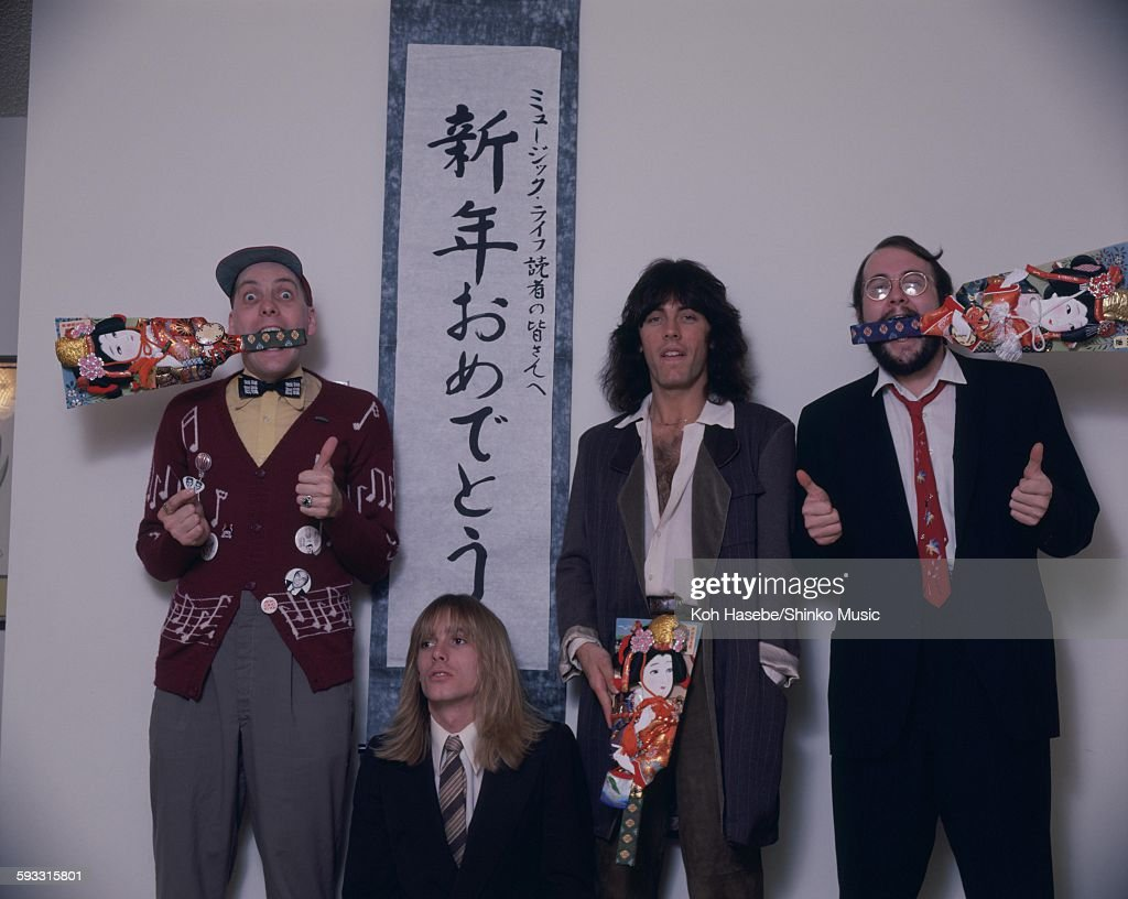 Cheap Trick at Studio shooting Tokyo November 1979