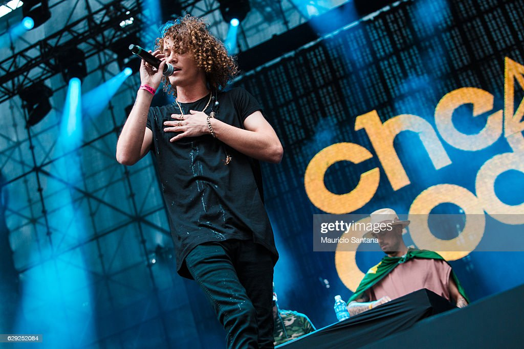 Cheat Codes performs live on stage at Allianz Parque on December 10, 2016 in Sao Paulo, Brazil.