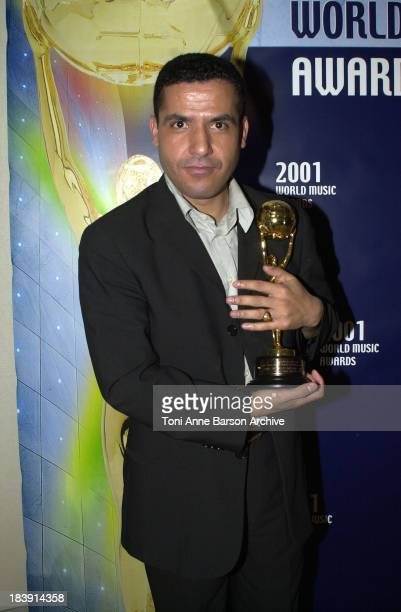 Cheb Mami during MonteCarlo World Music Awards 2001 at MonteCarlo Sporting Club in MonteCarlo Monaco