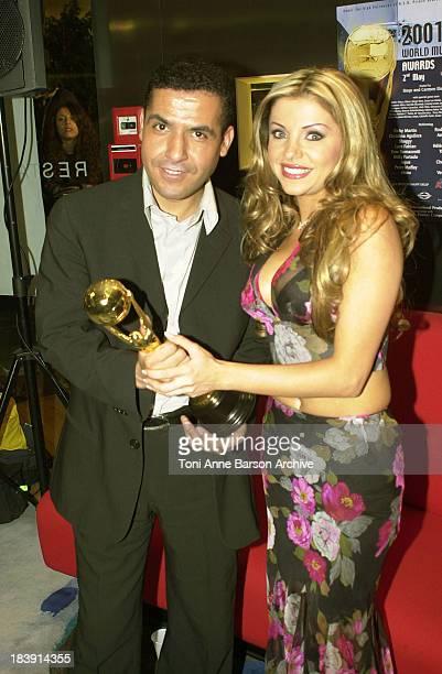 Cheb Mami Razan during MonteCarlo World Music Awards 2001 at MonteCarlo Sporting Club in MonteCarlo Monaco