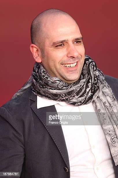 Checco Zalone attends the 'Checco Zalone' Premiere during The 8th Rome Film Festival at Auditorium Parco Della Musica on November 14 2013 in Rome...