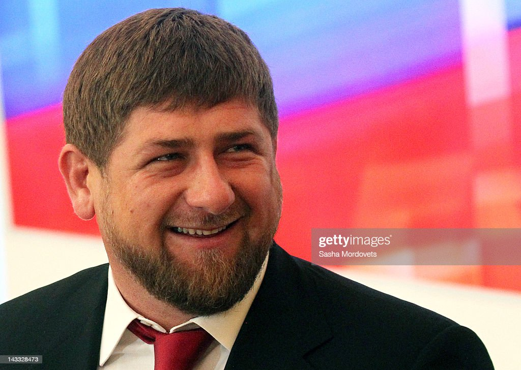 Chechen President <a gi-track='captionPersonalityLinkClicked' href=/galleries/search?phrase=Ramzan+Kadyrov&family=editorial&specificpeople=571490 ng-click='$event.stopPropagation()'>Ramzan Kadyrov</a> attends a speech by Russan President Dmitry Medvedev to the Cabinet and the country's governors during a meeting of the State Council in the Grand Kremlin Palace April 24, 2012 in Moscow, Russia. In his speech the outgoing Medvedev called for more reforms to improve and strengthen the government. Medvedev's last day in office wil be May 7, the inauguration day for President-elect Vladimir Putin.