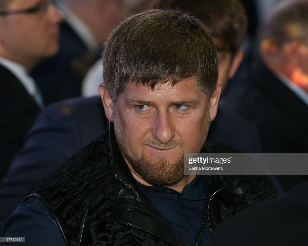 Chechen President <a gi-track='captionPersonalityLinkClicked' href=/galleries/search?phrase=Ramzan+Kadyrov&family=editorial&specificpeople=571490 ng-click='$event.stopPropagation()'>Ramzan Kadyrov</a> attends the plenary session of the St. Petersburg Economic Forum in June 19, 2015 in Saint Petersburg, Russia. Russian President Vladimir Putin spoke at the plenary session which runs through June 20.